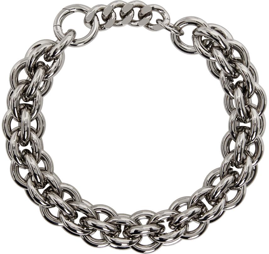 1017 ALYX 9SM 银色 Chunky 项链
