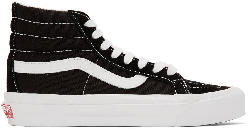 Vans 黑色 UA Sk8-Hi LX 高帮运动鞋