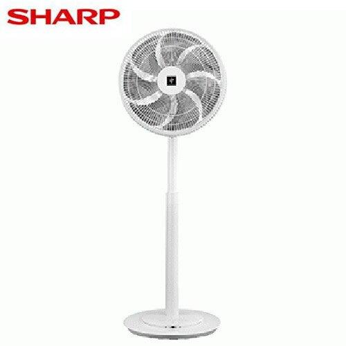 SHARP夏普 14吋 自動除菌離子DC直流馬達立扇DPJ-H14PGB【愛買】