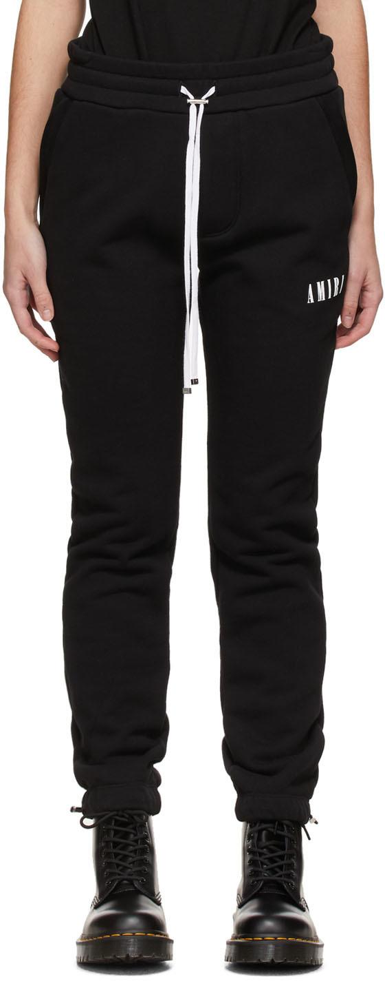 AMIRI 黑色 Core Logo 运动裤