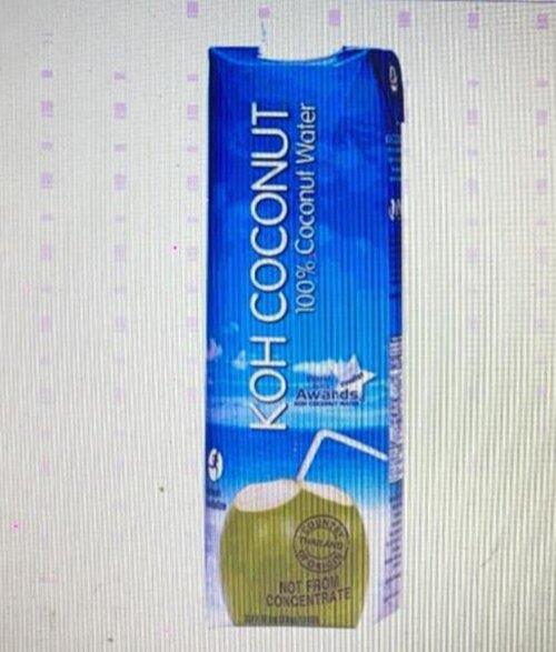 [COSCO代購] W75130 Koh 純椰子汁 1公升 X 6入
