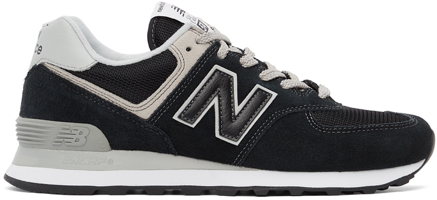 New Balance 黑色 574 运动鞋