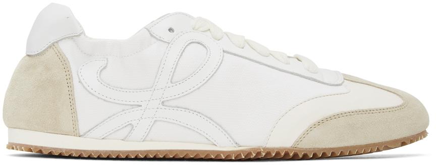 Loewe 灰白色 & 白色 Ballet Runner 运动鞋