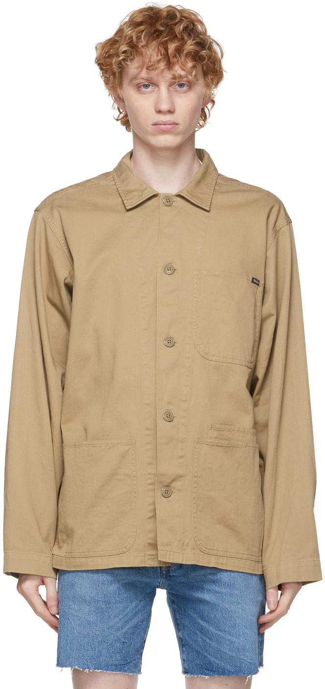 Polo Ralph Lauren 黄褐色 Classic Fit 夹克
