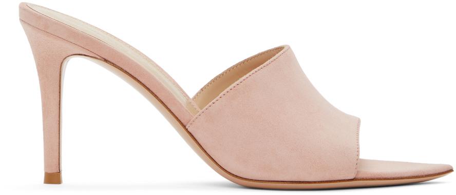 Gianvito Rossi 粉色 Alise 85 凉鞋