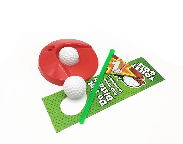 廁所高爾夫 馬桶高爾夫球 迷你高爾夫套裝休閒玩具 【4-4超級品牌日】