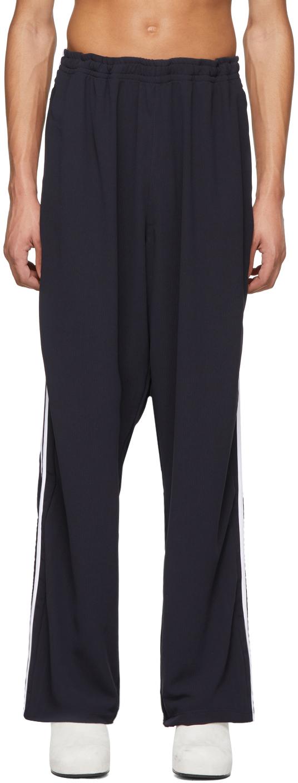 Random Identities 海军蓝 2-Stripes 运动裤