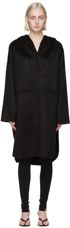 Totême 黑色套头大衣