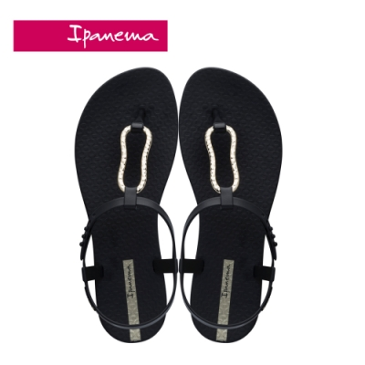 Ipanema  CLASS MOOD FEM美好氛圍T字涼鞋-黑