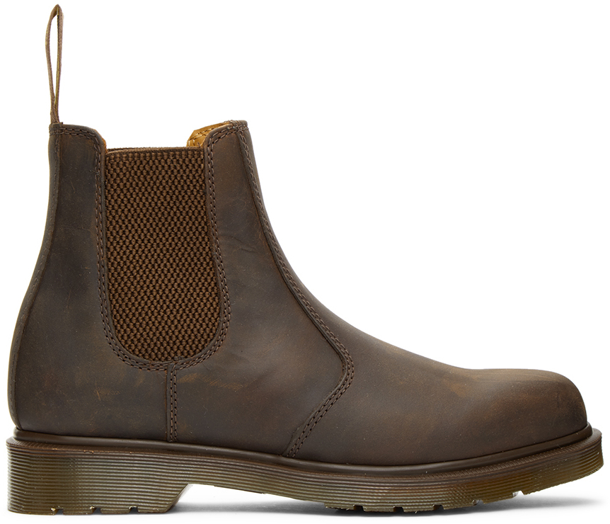 Dr. Martens 棕色 2976 切尔西靴