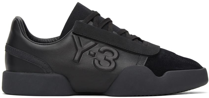Y-3 黑色 Yunu 运动鞋