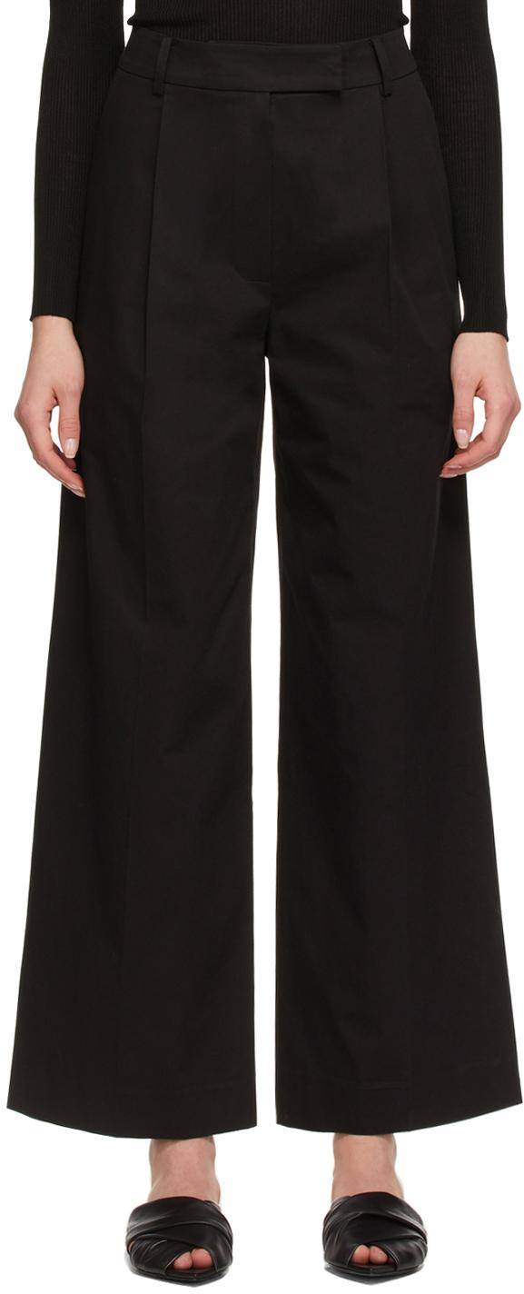 Blossom 黑色 Len Tuck 长裤