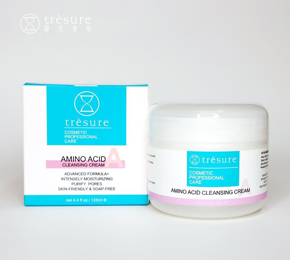 粹究美學Trsure | 胺基酸保濕潔顏霜 125ml◌ 不含皂鹼等添加物