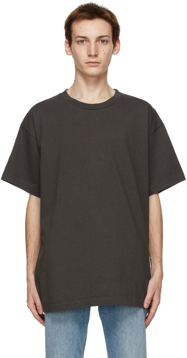 John Elliott 灰色 University T 恤
