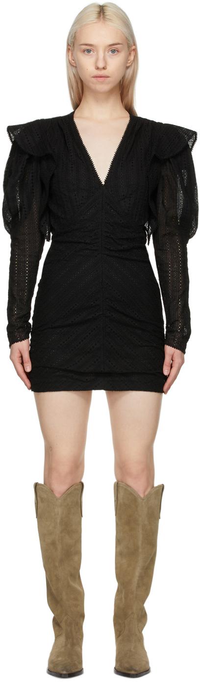 Isabel Marant 黑色 Getya 连衣裙