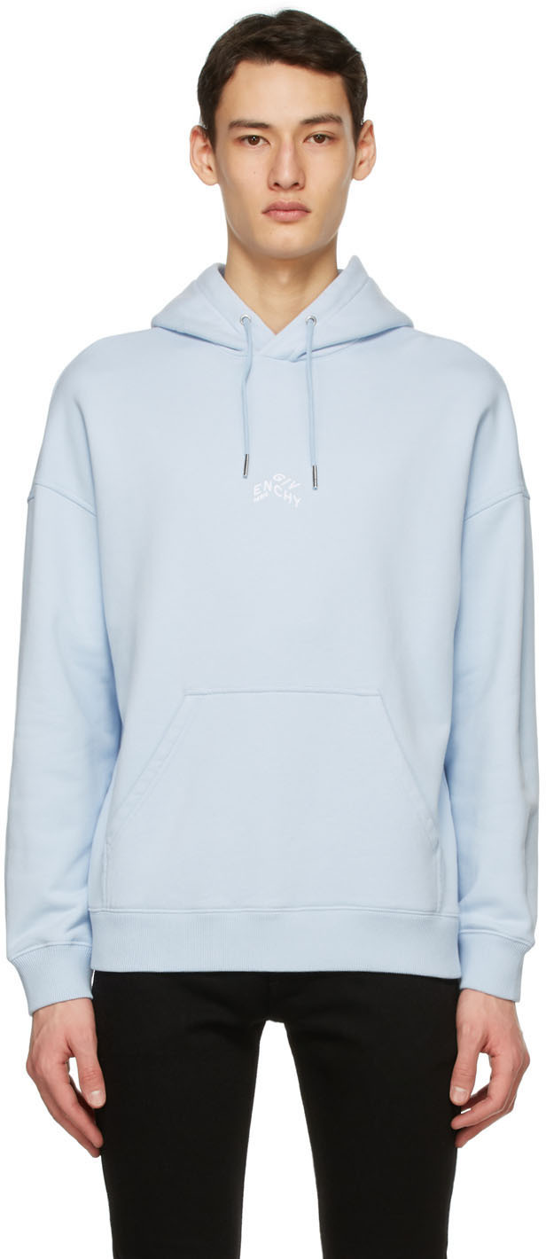 Givenchy 蓝色 Refracted Embroidered 连帽衫