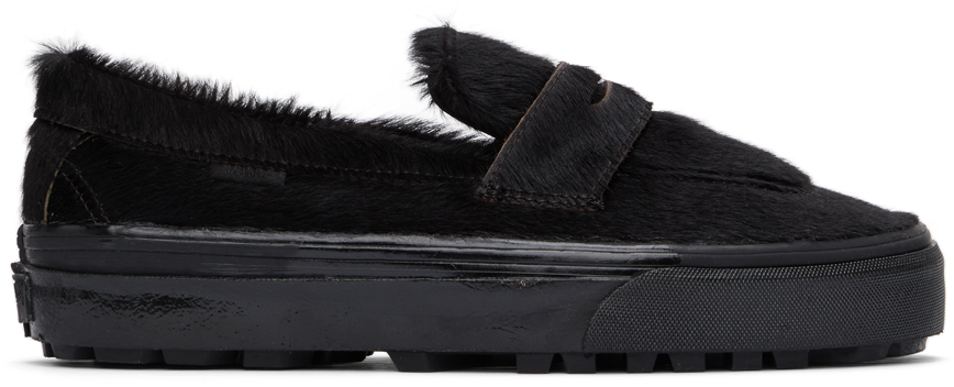 Vans 黑色 Style 53 LX 乐福鞋