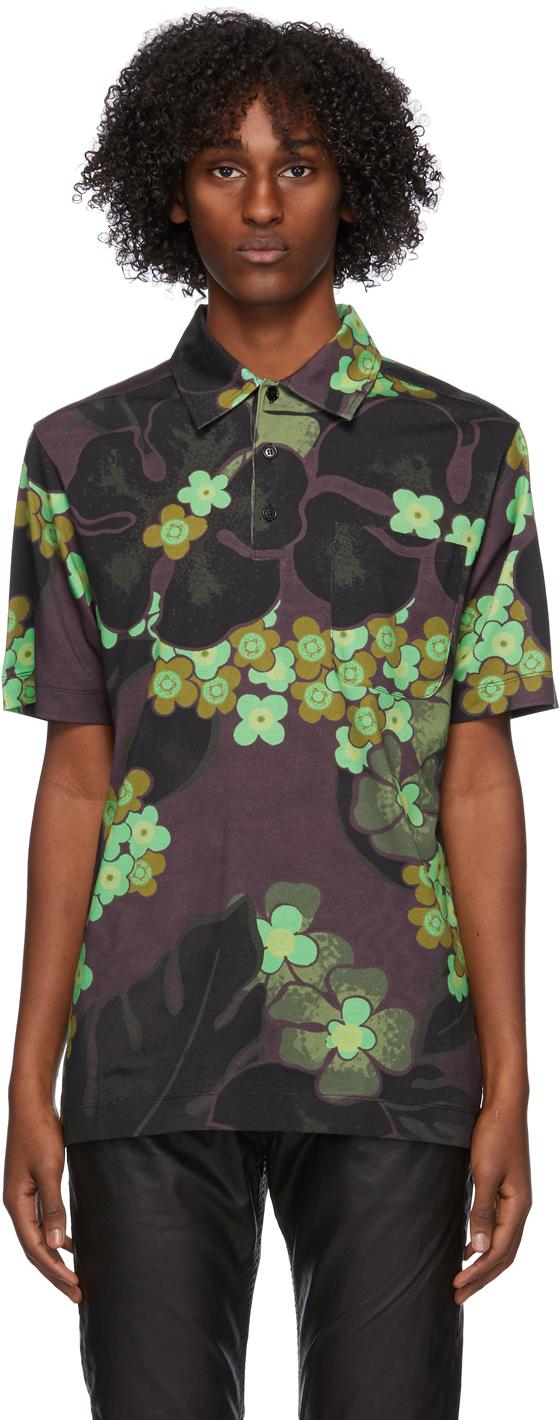 Dries Van Noten 多色 Flower Polo 衫