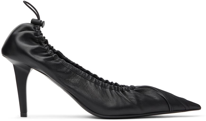 Balenciaga 黑色 Scrunch Knife 高跟鞋