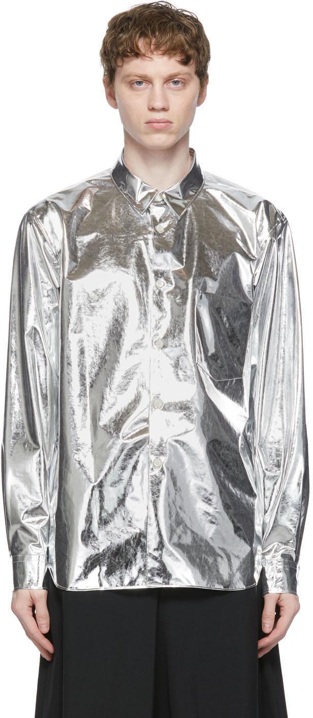 Comme des Garçons Homme Plus 银色 Film 衬衫