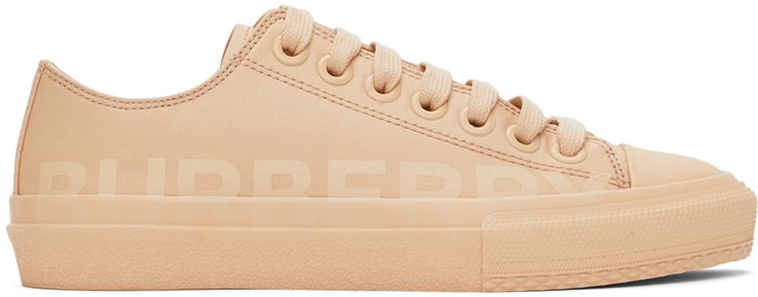 Burberry 驼色 Larkhall 运动鞋