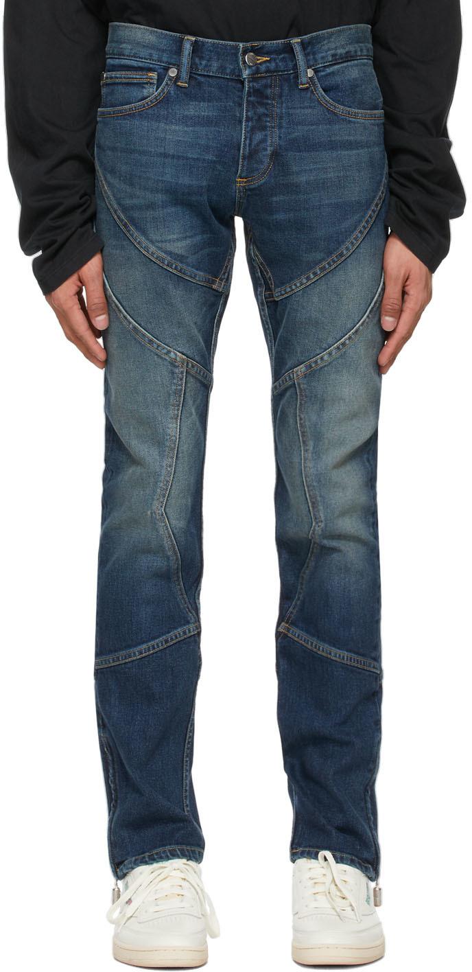 Rhude 蓝色 Rhoadster 牛仔裤