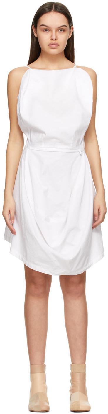 MM6 Maison Margiela 白色 Chair Cover 连衣裙