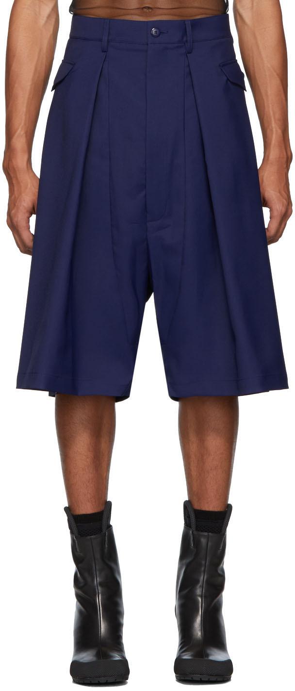 Random Identities 海军蓝 Hip Pocket 短裤