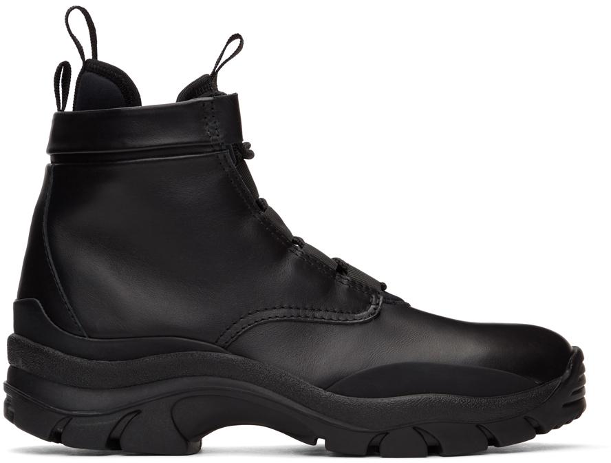John Elliott 黑色 Speed 踝靴