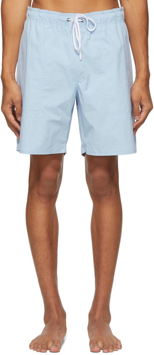 Saturdays NYC 蓝色 Richie 泳裤