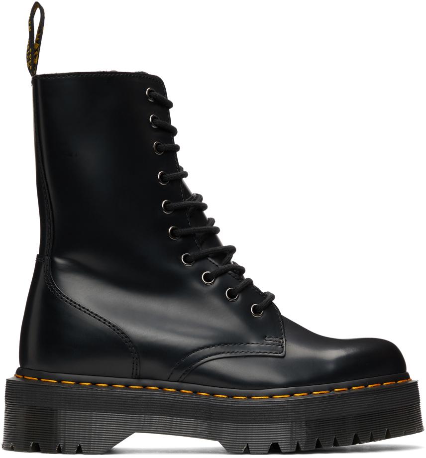Dr. Martens 黑色 Jadon Hi 中筒靴