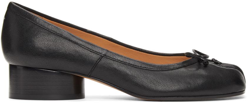 Maison Margiela 黑色 Tabi Ballerina 低跟鞋