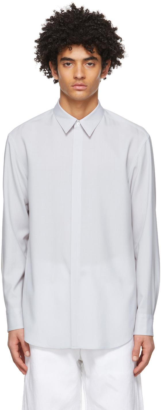 OVERCOAT 灰色羊毛衬衫