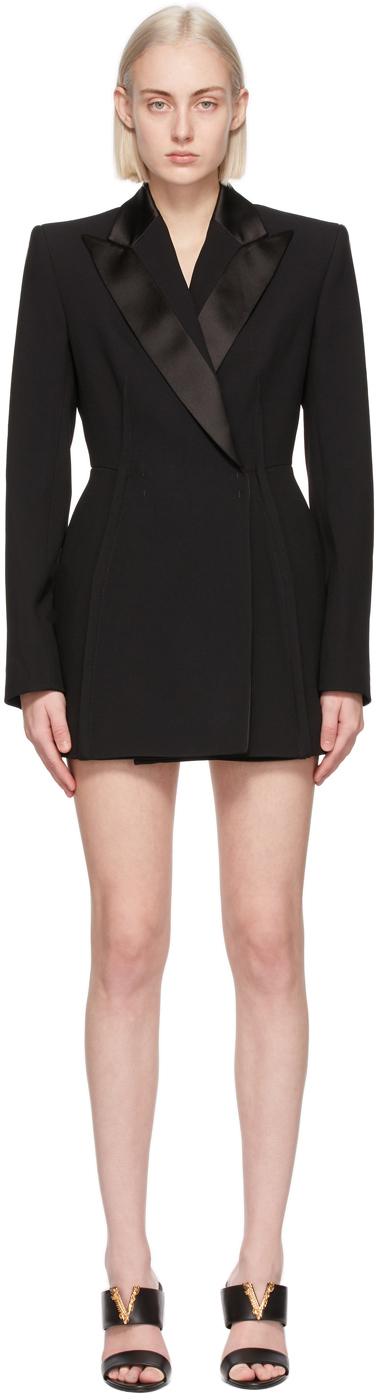 Versace 黑色 Blazer 连衣裙