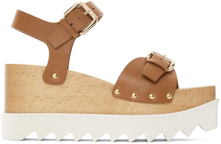Stella McCartney 棕色 Elyse 凉鞋