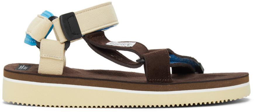 Suicoke 棕色 DEPA-ECS 凉鞋