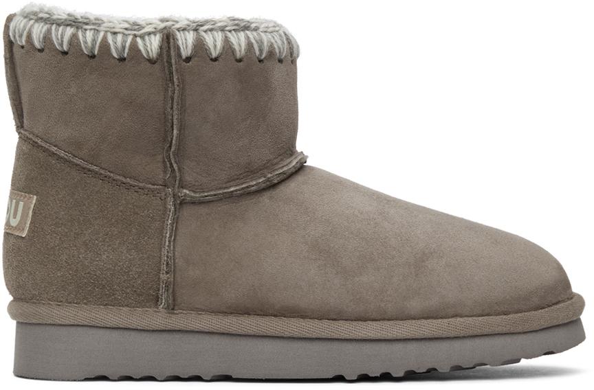 mou 灰色 Classic 踝靴
