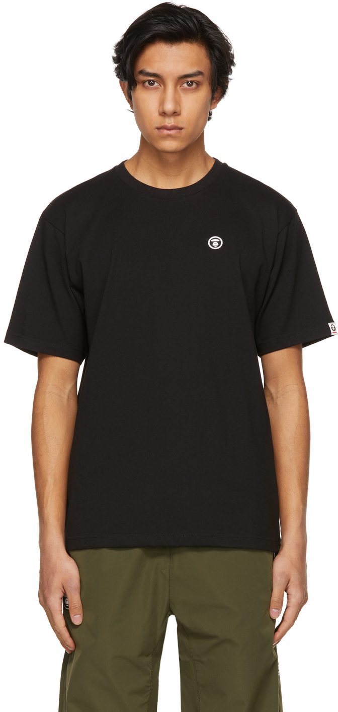 AAPE by A Bathing Ape 黑色 One Point T 恤