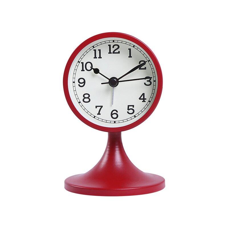 鬧鐘兒童多功能時尚簡約臥室數字時鐘床頭靜音鬧鐘喚醒創意座鐘