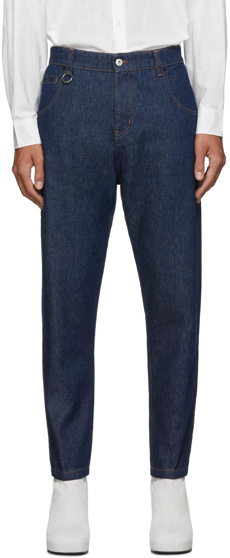 Random Identities 蓝色 I Bless The 60s 牛仔裤