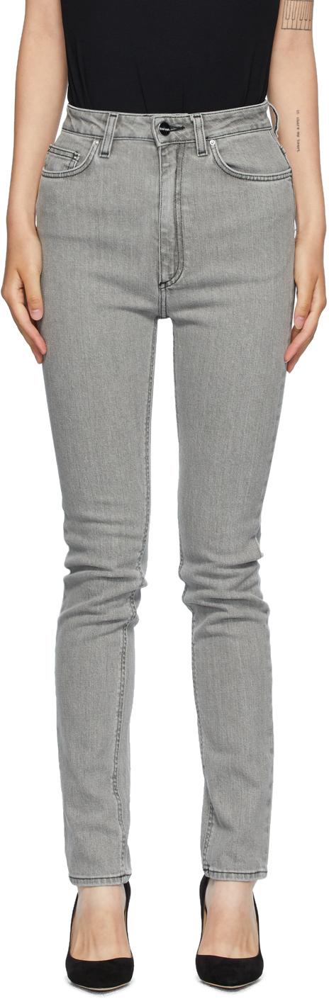 Totême 灰色 New Standard 牛仔裤