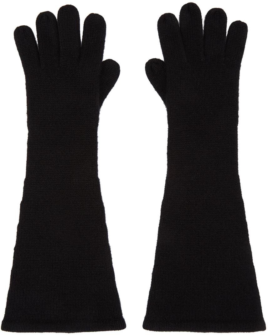 Totême 黑色羊绒手套