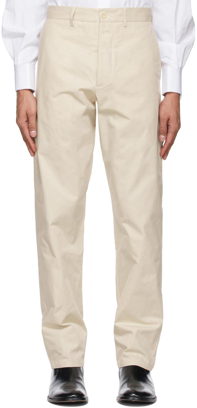 Maison Margiela 米色 Chino 长裤