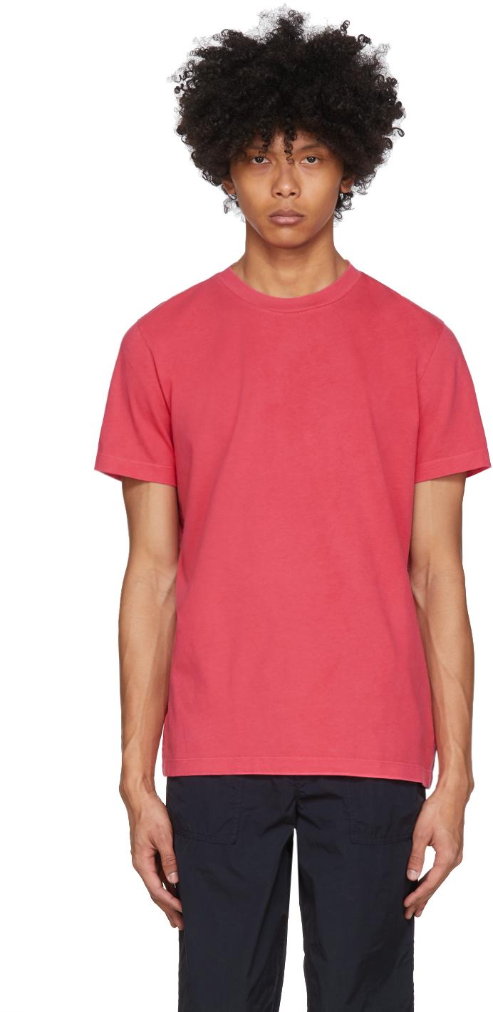 Moncler 红色徽标 T 恤