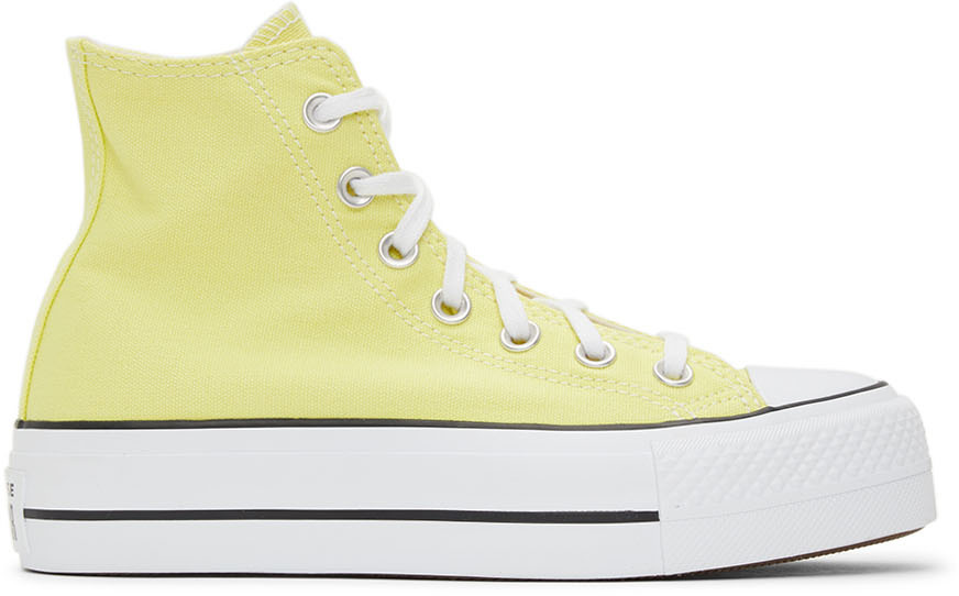 Converse 黄色 Chuck Taylor All Star 高帮运动鞋