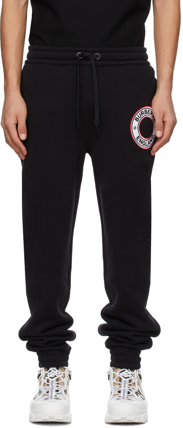 Burberry 黑色 Addison 运动裤