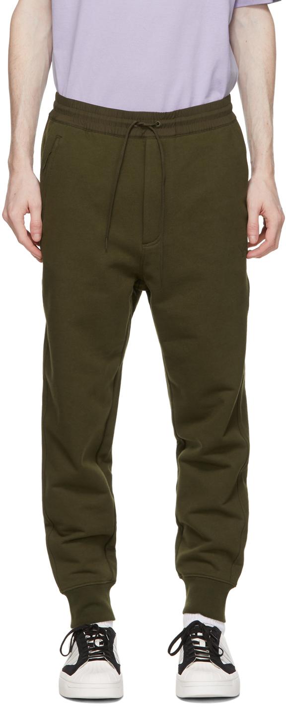 Y-3 军绿色 Utility 运动裤