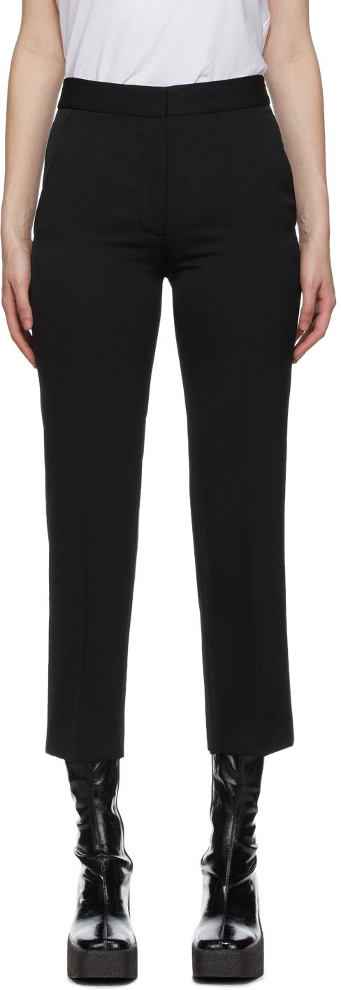 Stella McCartney 黑色 Carlie 羊毛长裤