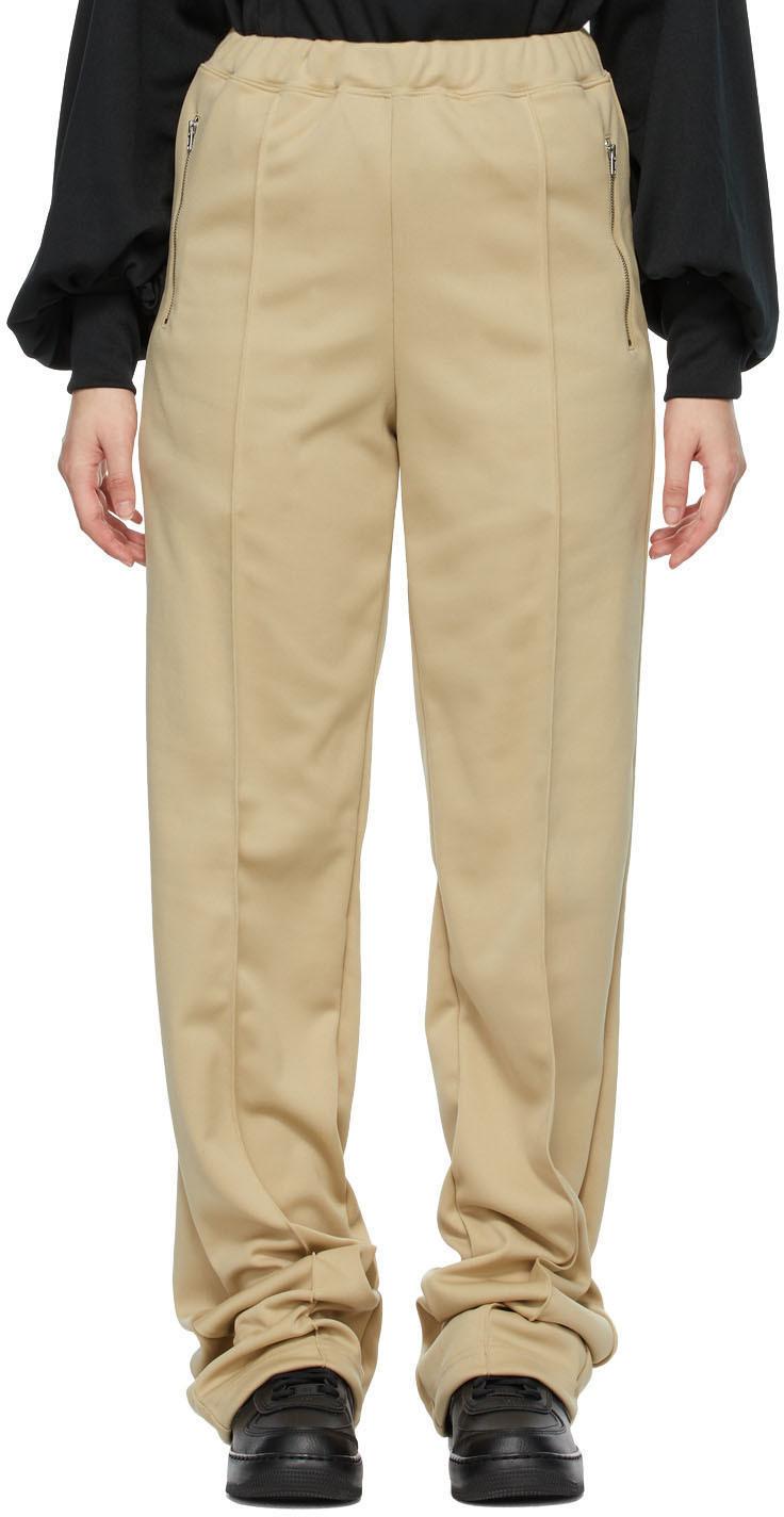 Random Identities 驼色 Dressy 运动裤