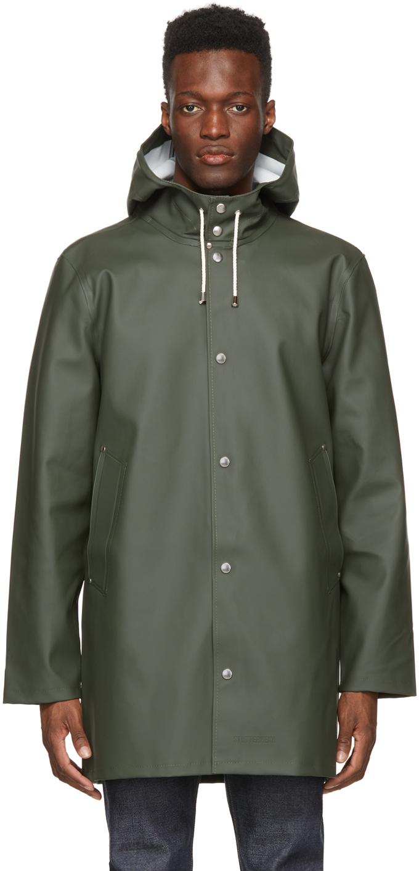 Stutterheim 绿色 Stockholm 雨衣